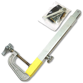 крепеж датчика эхолота алюминиевый телескопический