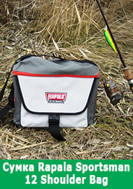 Обзор: Сумка Rapala Sportsman 12 Shoulder Bag.