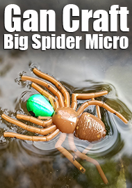Обзор: Обзор Gan Craft Big Spider Micro, то что надо для тараканинга