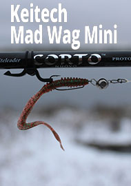 Обзор: Keitech Mad Wag Mini