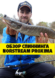 Обзор: Обзор спиннинга Norstream Proxima 804M