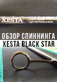 Обзор: Обзор спиннинга Xesta Black Star Solid TZ Tuned S72-S