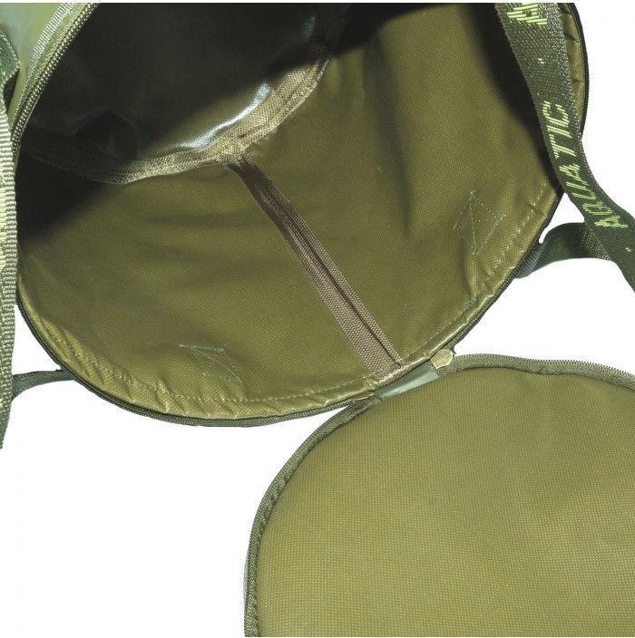 ведро для прикормки с креплением на кресло