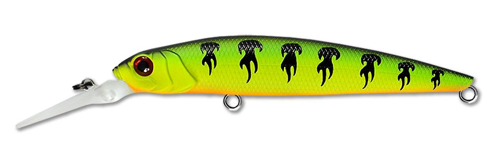Воблер Fishycat Bobcat X03 (неон/пламя) 95мм (12г)
