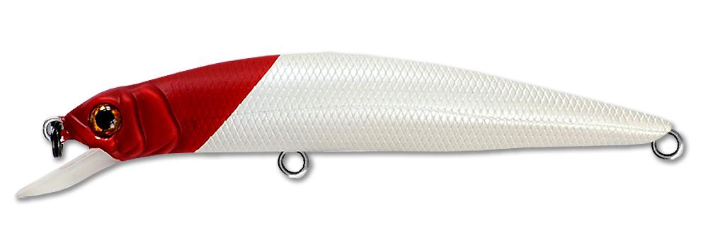 Воблер Fishycat Libyca 75SP (4,7г) X01 (белый/красный)