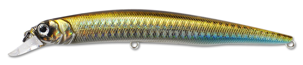 Воблер Fishycat Ocelot 125f R09 (золото) 125мм (12,7г)