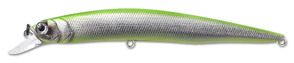 Воблер Fishycat Ocelot 125f R12 (зеленый) 125мм (12,7г)