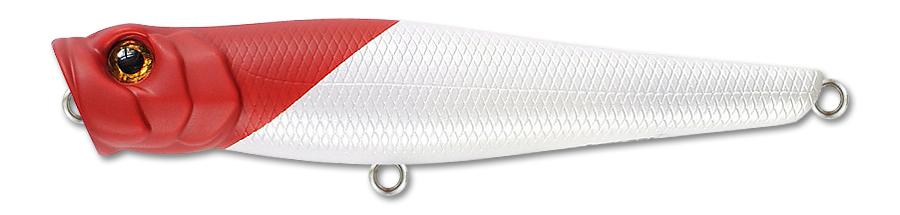 Воблер Fishycat Popcat X01 (белый/красный) 85мм (9,2г)