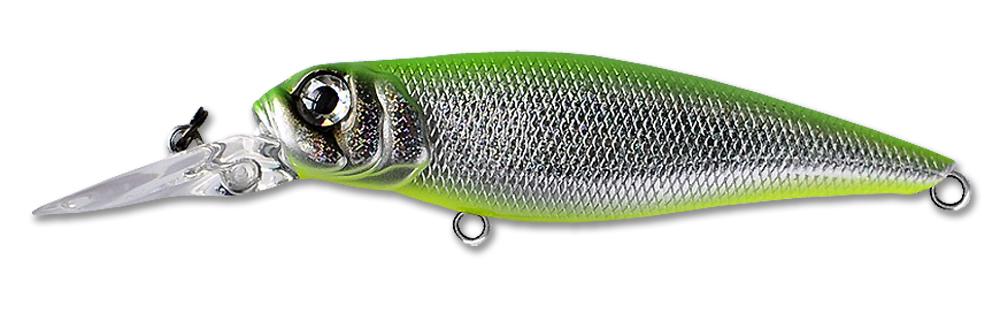 Воблер Fishycat Tomcat R12 (зеленый) 67мм (6,7г)