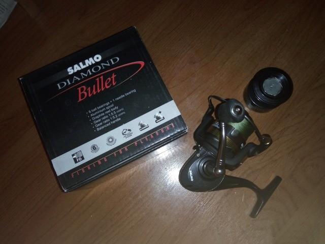 катушка безынерционная salmo diamond bullet 35fd