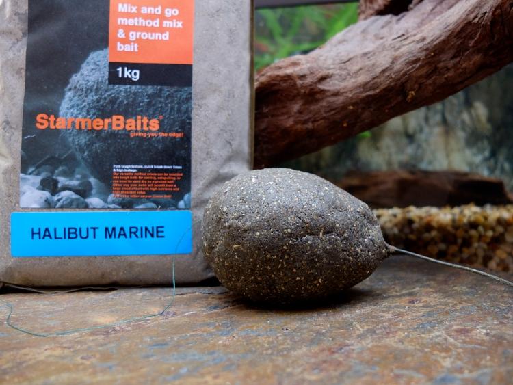 прикормка marine halibut stick mix 1kg