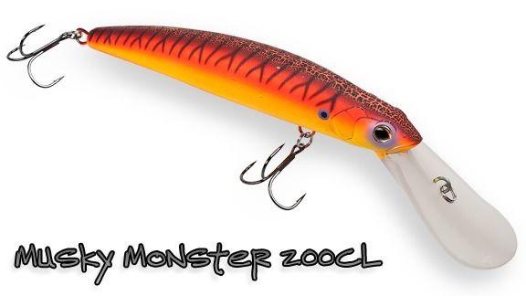 strike pro musky monster 200cl