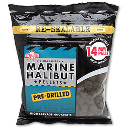 Пеллетс Dynamite Baits Marine Halibut Pre Drilled