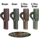 GARDNER Клипса для грузил COVERT LEAD CLIPS C-THRU GREEN (12шт) CLCCG