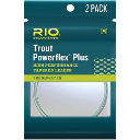 Подлесок RIO Powerflex Plus Leader 2-pack