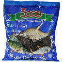 Пеллетс зим. Sensas 3000 BREAM BLACK 0.4кг