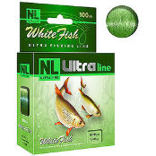Леска летняя Aqua NL Ultra White Fish (Белая рыба) 100 м