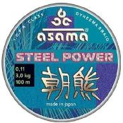 Леска плетеная Asama Steel Power