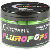 CB Бойли плавающие Fluoropops Chilli Squid Pink 10mm, 15mm & Dumbells