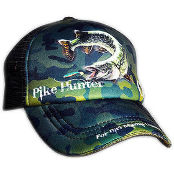 Кепка Crazy Fish Pike Hunter Camo