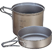 Кастрюля Evernew Ti Non Stick Deep Pot with Handle LL
