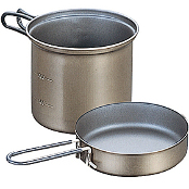 Кастрюля Evernew Ti Non Stick Deep Pot with Handle M