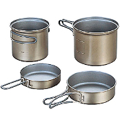 Набор кастрюль Evernew Ti Non Stick Deep Pot Set