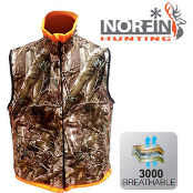 Жилет флисовй Norfin Hunting REVERSABLE VEST PASSION/ORANGE