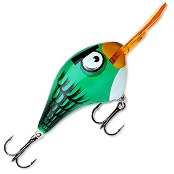 Воблер Rapala Angry Birds DT Green Toucan