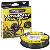 Леска плетеная Spiderwire Ultra Cast 8 Carrier Ultimate Braid Green