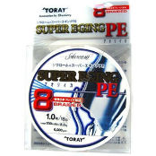 Леска Toray Super Eging PE 8 Braided