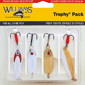 Набор блесен Williams Trophy Pack 4PCWE