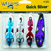 Набор блесен Williams Wabler Quick Silver Pack