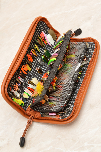 кошельки для рыболовных приманок
